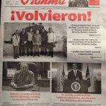"""""""@yoanisanchez: #Cuba #Obama está en la portada del #Granma y no es rodeado de insultos... qué raro... :-0 http://t.co/NbCrUgfM2B""""#wow"""