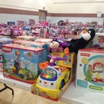 #SalvationArmy is getting ready for their annual toy shop for families in need. #kq2 http://t.co/YoE6heX1sT