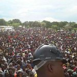People were getting excited over the mandevu turnout, Well this is just Kafue. HH is attracting numbers. http://t.co/2paWd3agrW