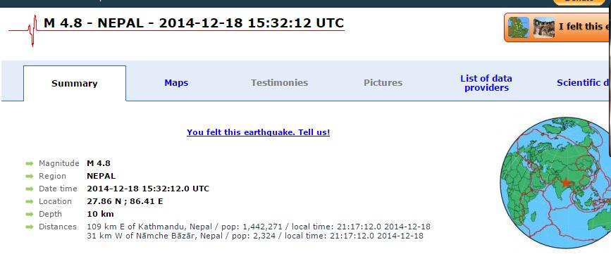 This could be the #Earthquake #Kathmandu just felt. #Nepal http://t.co/s3XM7UIFwb