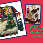 Rock @TinselTrails Party with These Tacky Sweater #Hacks http://t.co/i5R0Tf95CV #DIY http://t.co/RF27zqOufL