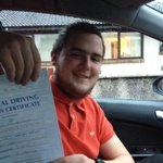 Well done Stuart Baird passing his test today in #ayr #Ayrshire first time Assisted by http://t.co/M7dlJZ1pKm http://t.co/xsq2wNrkcL