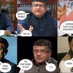 COMIC: Meanwhile, at Ravi Shankar Prasads office .... (via @ashwinskumar) http://t.co/sD4161DK09