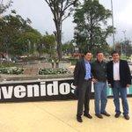Alcalde @anibalgaviria @EPMestamosahi y @ParqueExplora visitan #Manizales y conocen el Parque del Agua @aguasmzl http://t.co/1UoehMkj7A