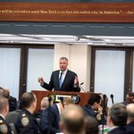 Mayor @BilldeBlasio thanked the NYPD for their hard work and achievements at todays CompStat meeting. http://t.co/f1hP8NUR9d