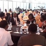 Board members and the MD gracing the Kampala Water xmas Party at UMA conference hall @nwscug @NWSCMD http://t.co/HVQSCE48g6