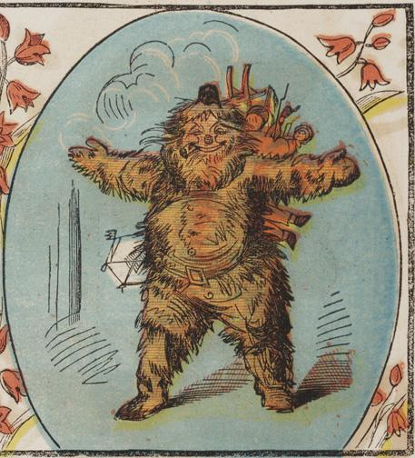 Santa as a jolly, old Yeti in a ca. 1850 edition of A Visit of St. Nicholas. http://t.co/aCgDZ8aY86 http://t.co/jYHAWsQFtg