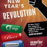 Dont forget folks ring in the New Year with Galway Bay! Crap beer = GBB beer! #crapbeeramnesty http://t.co/itXFEuf22k