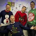 Here are the faces behind the festive jumpers #christmasjumpers #miltonkeynes #hohoho http://t.co/a9l9aj3fqv