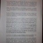 Heus aquí la carta de 13 magistrats perquè Rajoy freni Fernández Díaz! http://t.co/HUClzFhyXp