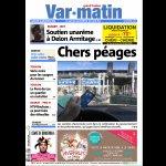 La une de Var-matin du vendredi 19 décembre, édition Grand #Toulon http://t.co/8cx2S2q6uu