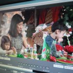 Launching #ChristmasTraditions at 5pm @ctvedmonton with @misssarahchan -- #yeg First Lady and the kids. @doniveson http://t.co/MoND5kCcbw