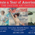 Join us for a celebration of #American #art in #2015! http://t.co/2o9EhFR4lQ #Dayton http://t.co/8ULQw3IKRI