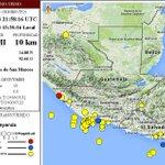 Sismo a las 15:58 horas; Magnitud: 4.7 en la escala de Richter; Epicentro: 82 kms de San Marcos; #Preliminar http://t.co/RdApDm4BoN