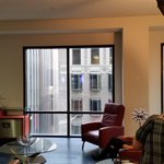 Behind-the-scenes latest-listing: 2 bed/2 bath fully-furnished loft--right in #DTLA #LosAngeles s finance district. http://t.co/7amKyRyzV8