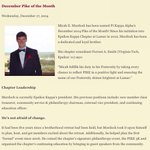 Congratulations to our brother Micah Murdock for being recognized as Decembers Pike of the Month by our nationals. http://t.co/mwGjVSiOJN