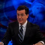 Stephen Colbert officially jumped the shark last night. http://t.co/At33J6ae7s http://t.co/m5NFkdPPZO