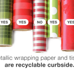 Yes, #losangeles, #austin, #santamonica, #westhollywood, gift wrap is recyclable if you follow this rule. http://t.co/rwesX0moQi
