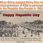 Nehru was mad? RSS 1963 Republic Day Parade Pic. When in 1963 RSS can take part, Why not now? @narendramodi @lvu04 http://t.co/xrXqd4uj3c