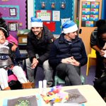 Spent a lovely afternoon with the @QPRFC squad and some amazing kids and adults over at Jack Tizzard school. #xmas http://t.co/R1z6QuNuVK