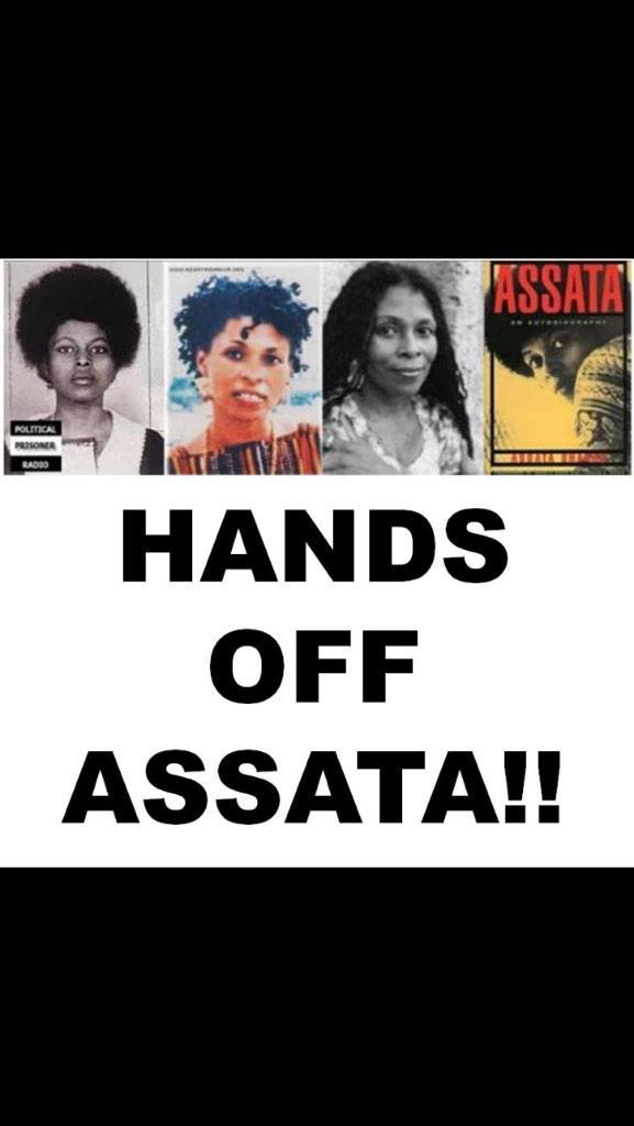 President Obama needs to make an Executive Decision and Exonerate Assata Shakur. #HandsOffAssata #BlackLivesMatter http://t.co/ecdnBF9Cs5