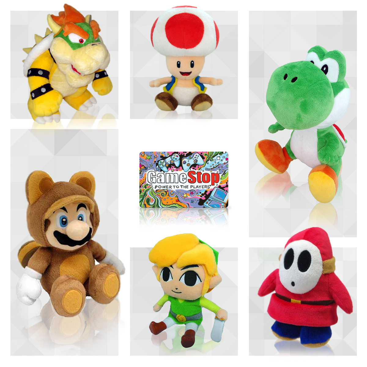 GameStop (@GameStop): These plushes available at GameStop are perfect for every #Nintendo fan! http://t.co/kbzHMR8rrr http://t.co/fbuSNm8fzh