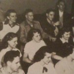 #Elvis in class at Humes High School in #Memphis Back row, 4th from left. (As if you needed the help to find him.) http://t.co/OZQ6NFq22p