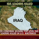 Breaking News: Top #ISIS leaders in Iraq were killed in U.S. airstrikes, including a deputy to leader al-Baghdadi. http://t.co/bYXKUHOdV1