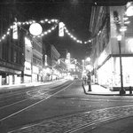 Holiday decor in downtown #StPaul, 1948. #ThrowbackThursday Dont forget to come see Rice Park in lights thru Jan. 1. http://t.co/GstAM3XVw0