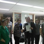 Congrats to the @icvmcwpg video club for receiving a Safe schools grant to make a video about @SAFEWorkMb Cant wait! http://t.co/2AFuGycdiI