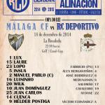 Alineación del #Deportivo frente al #Málaga en la #Rosaleda. #Depor #CopaDelRey https://t.co/gLfAncXIuC    Vía @RCDeportivo