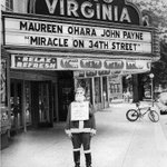 """RT @thevirginia: #ThrowbackThursday to """"Miracle on 34th Street"""" at the Virginia in 1947! See it tonight 7pm only $4! http://t.co/30nUERDgMa"""