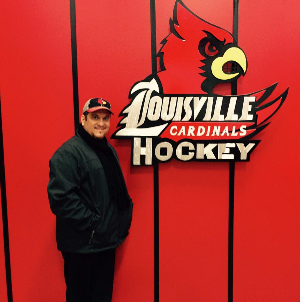 RT @MrTonyViscardi: Just installed a new sign at Iceland skate rink for the University of Louisville Hockey team http://t.co/g5zkjiy0hx