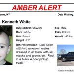 AMBER ALERT: Here is a picture of Kenneth White, the 5 year old taken from home in Berne, NY http://t.co/Eb3rzqw1nu http://t.co/cFXHuCj5PG