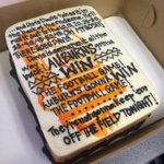 Without a doubt one of the coolest things Ive received since 2013 Iron Bowl. Cake from Sweet Malisas in Opelika. http://t.co/qY8koW1V2r