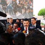 Atención a Medios de Comunicación por parte del Gobernador @Paco_Olvera en #DíaDelPolicía @SocialHidalgo http://t.co/IjoJCVmWfY