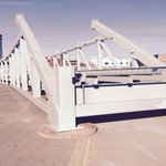 This truss, size of football field, to be installed over I-25 tonight! Full closure I-25 from CO Blvd to Evans Ave. http://t.co/0cWIyoq84z