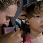 New iPhone app & tool allows parents to receive kids' ear infection diagnosis at home: http://t.co/UoBEKX6HqU http://t.co/imMh3ZdZcE