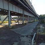 Under the 14th St Viaduct at Grand St in 2007 (and today) #ThrowbackThursday #Hoboken http://t.co/WHLMdvjppe