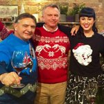 @TwoPaddocks -- Sam Neill has officially won the Christmas sweater contest. Everyone else go home. http://t.co/L8kNu9lQvN