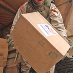 #TBT: 2-7 CAV Troopers with #TaskForceBaghdad deliver shoes, toys and schools supplies to children in Taji, Iraq. http://t.co/Tw1FEOoS1c
