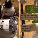Twigs down, THE best Christmas window display - http://t.co/IeWiLH9VdV