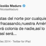 Ok @NicolasMaduro , pero no twittees desde el iPad :,( ¿Fracasaron y les compraste el iPad? :,( http://t.co/a2jxwrzVcJ
