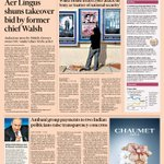 Financial Times UK edition front page, Friday 19 December 2014