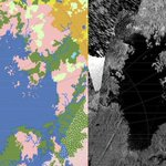 Scientists have mapped the seaside terrain at Titan's north pole http://t.co/cjJXA3gVoI http://t.co/dszDAXg65R
