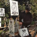 No jets - yes bikes. Free delivery, no carbon! Send name, address, ZIP to NoMoreJets@gmail.com #santamonica #airport http://t.co/8Ak0Yk8zBT