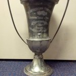 #TBT An appearance from the recently unearthed 1920 @bigtenconf championship trophy won by the #Illini. http://t.co/jyCB31PQJi