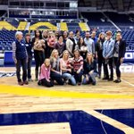 Halftime recognition celebrating 40 years of Lumberjack basketball! Thanks to all our alums who came back! #NAuStrong http://t.co/x8Y2mASsYJ