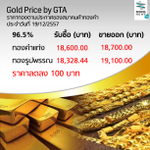 ราคาทองคำเปิดตลาดเช้าราคาปรับลง 100 บาท http://t.co/2it5ECTwCF #ทองคำ #ราคาทอง #SpringNews #CH19 http://t.co/dsCIO7LVh4