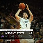 WSU (8-4) gets another road win, this one over Western Carolina, 69-56! JT Yoho: 19 pts, 12 reb. #ThatsWright #HLMBB http://t.co/ShTp4suqNl